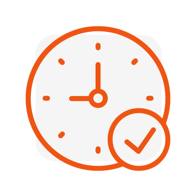 time efficient icon